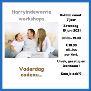 Workshop kinderen Vaderdag cadeau