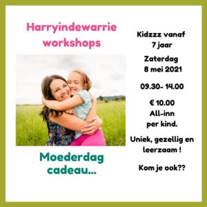 Workshop kinderen Moederdag cadeau