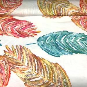 Spandex bladeren polyamde print