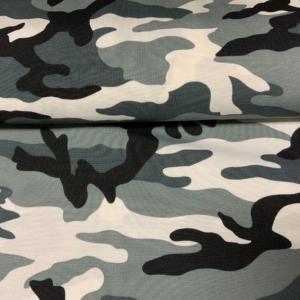 Carnaval stof camouflage print