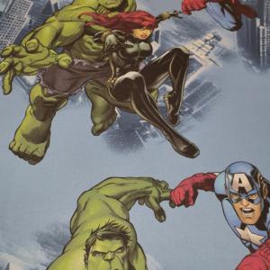 Marvel hulk heroes stof