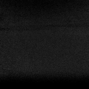 Zwart kamgaren wol polyester