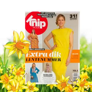Knip zelfmaakmode tijdschrift April 2021