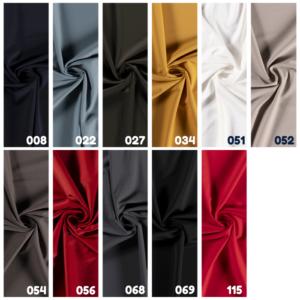 Travel jersey elasthan stof