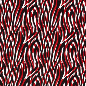 Viscose stof tijger print