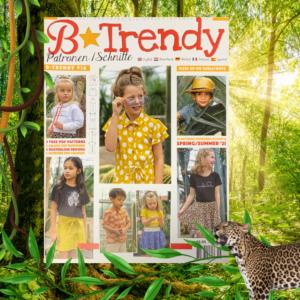 B trendy zelfmaakmode tijdschrift