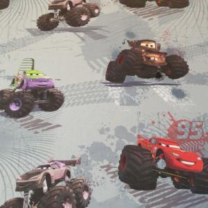 Disney katoen cars print