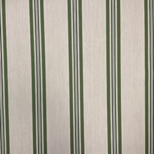 Markiesdoek zandkleur groene streep