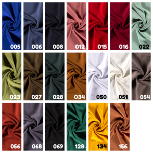 Viscose stof 20 kleuren