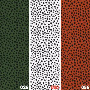 Katoen tricot tijgerprint stof