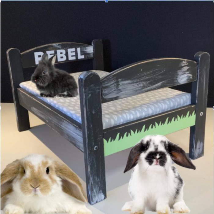 Ikea hack maak een konijnen bed