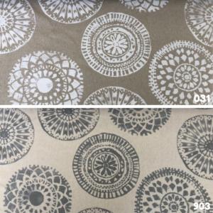 Decoratiestof linnen mandala