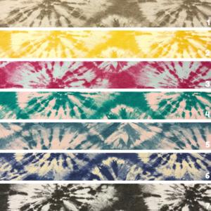 Decoratiestof Tie Dye print