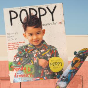 Zelfmaakmode tijdschrift Poppy nr17