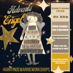 Workshop advents engel maken